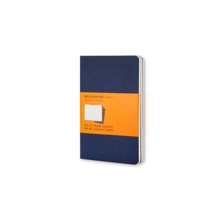 Zestaw 3 zeszytów Cahier Journals 9x14 linia