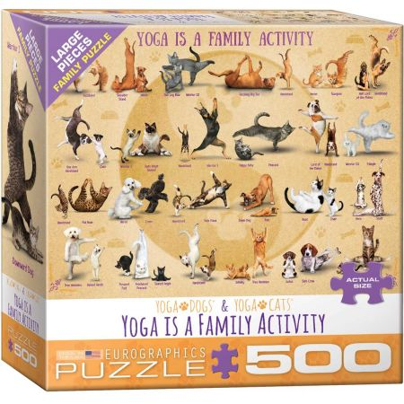 Puzzle 500 Joga 6500-5354
