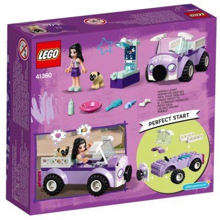 Lego Friends. Mobilna klinika weterynaryjna Emmy