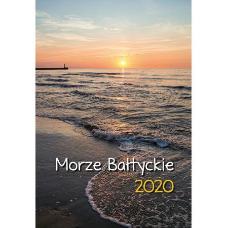 Kalendarz ścienny 2020 Morze Bałtyckie