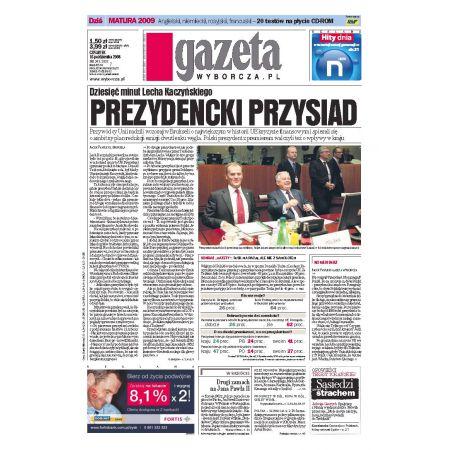 Gazeta Wyborcza - Płock 243/2008