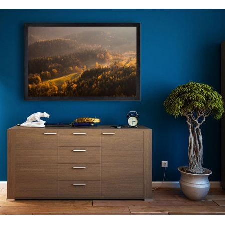 Rudawy Janowickie, jesienne wzgórza - plakat premium