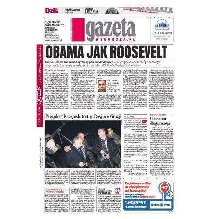 Gazeta Wyborcza - Kraków 274/2008