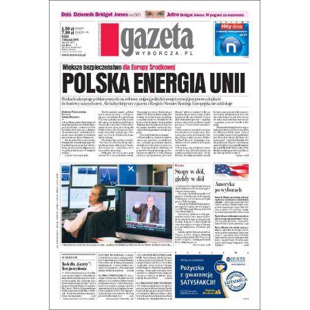 Gazeta Wyborcza - Częstochowa 261/2008