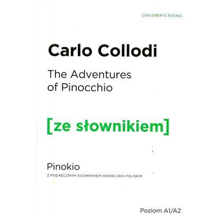 Pinokio w.angielska + słownik A1/A2