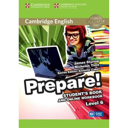 Cambridge English Prepare! 6 Student's Book
