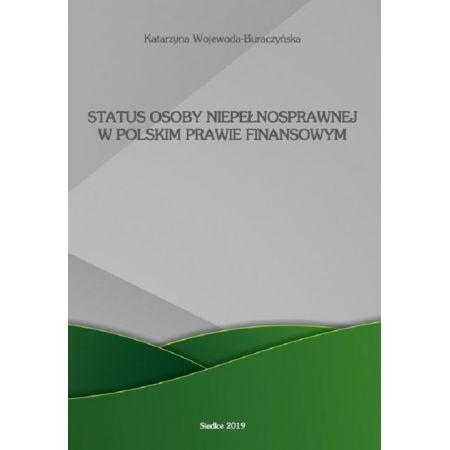 Status osoby niepełnosprawnej w polskim prawie finansowym