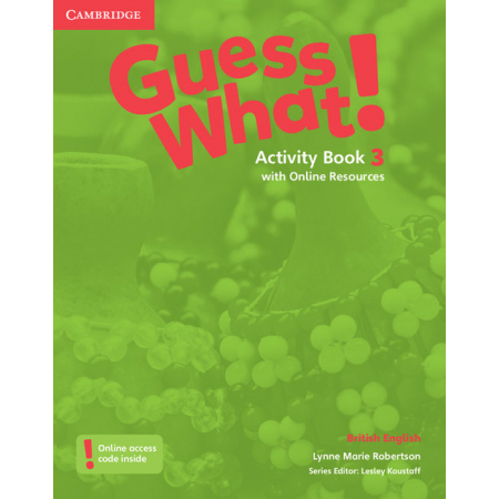 Guess What 3. Activity Book with Online Resources