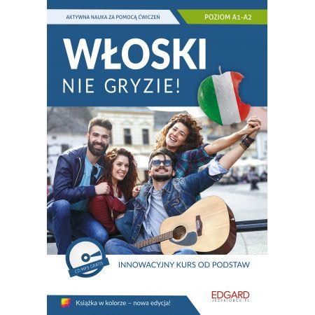 0752e0f63e777d Włoski nie gryzie! A1-A2 Książka + CD Anna Wieczorek w TaniaKsiazka.pl