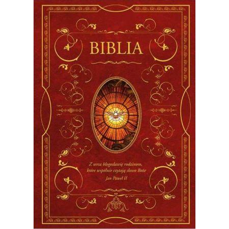 Biblia domowa z obwolutą Duch Święty