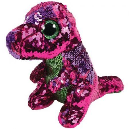 Beanie Boos - Cekinowy Dinozaur 24 cm
