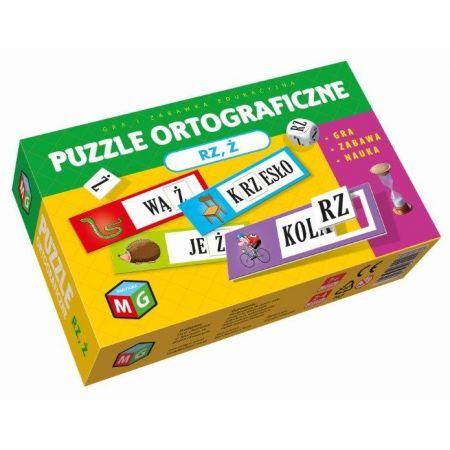 Puzzle ortograficzne RZ i Ż