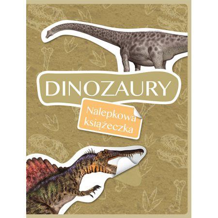 Nalepkowa książeczka. Dinozaury