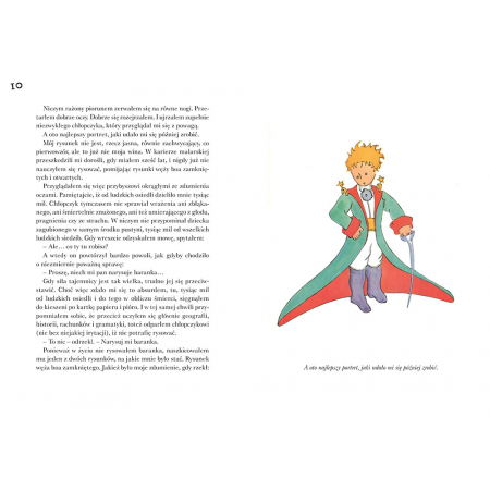 Mały Książę (z ilustracjami autora) - Antoine de Saint-Exupéry