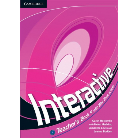 Interactive 4 Teacher's Book with Web Zone access