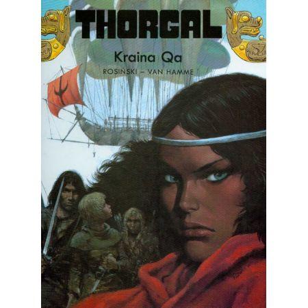Thorgal, tom 10. Kraina Qa