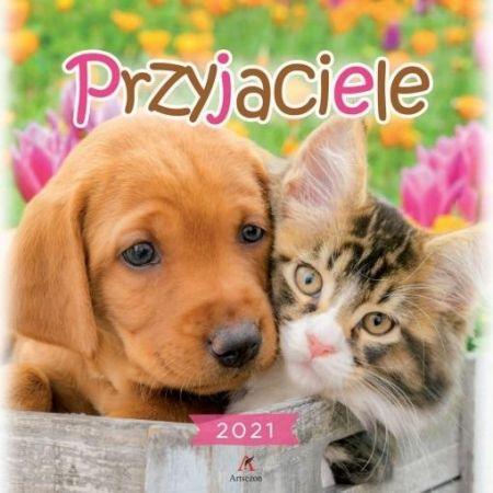 Kalendarz 2021 Ścienny Przyjaciele ARTSEZON
