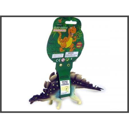 Dinozaur z dźwiękiem 28cm. 4wz.   HIPO