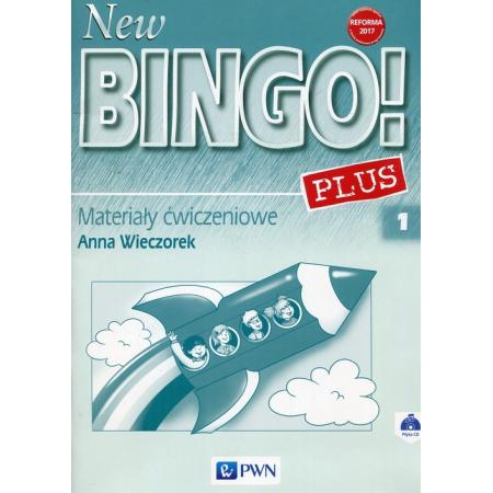 New Bingo! 1 Plus. Reforma 2017. Język angielski. Materiały ćwiczeniowe