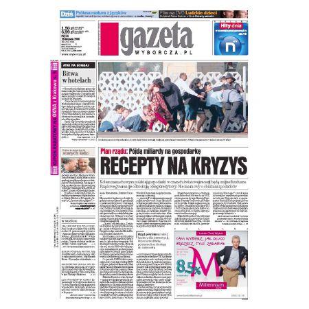 Gazeta Wyborcza - Zielona Góra 279/2008