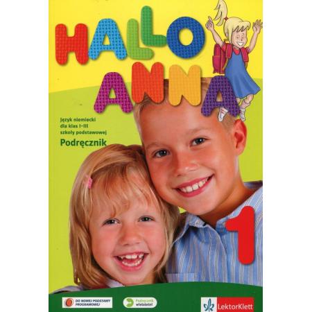 Hallo Anna 1. Podręcznik. Język niemiecki