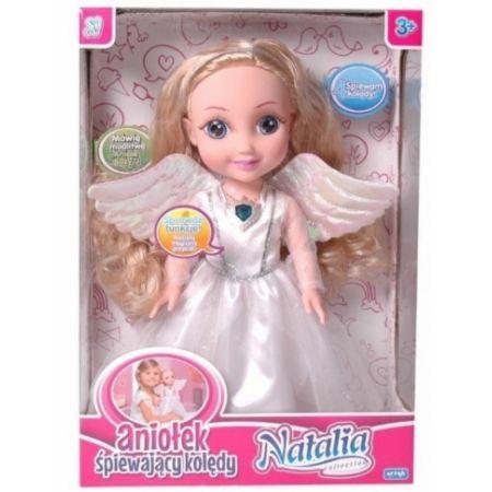 Lalka Natalia śpiewająca kolędy