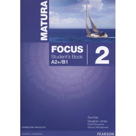 Matura Focus 2 PL SB A2+B1 wieloletni PEARSON