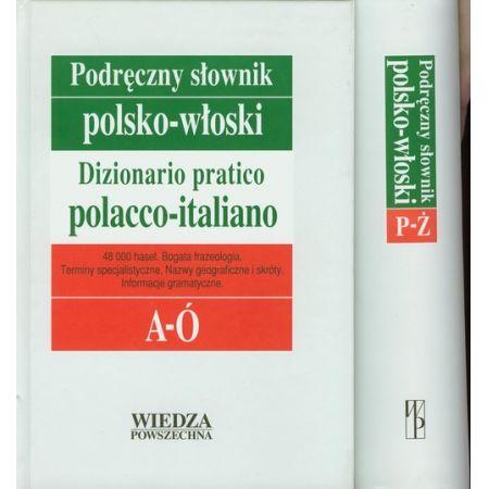 Podręczny słownik polsko-włoski Tom 1-2