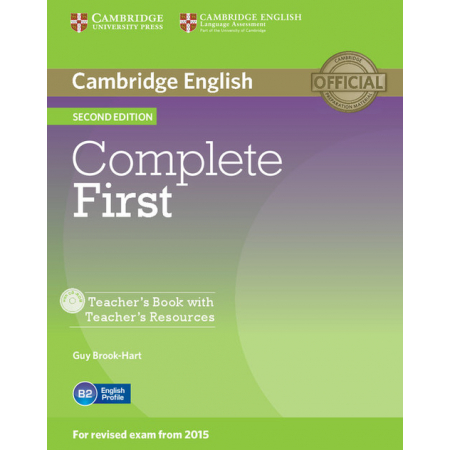 Complete First Teacher's Book with Teacher's Resources +CD
