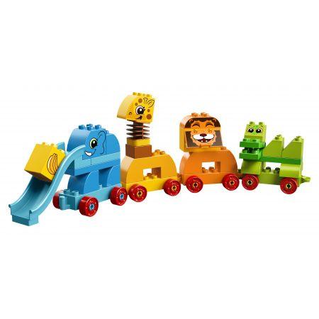 Lego Duplo. Pociąg ze zwierzątkami