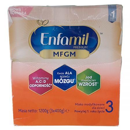 3 MFGM Mleko modyfikowane dla dzieci po 1. roku życia (uszkodzone opakowanie)