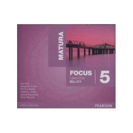 Matura Focus 5 Class CD (wieloletni)