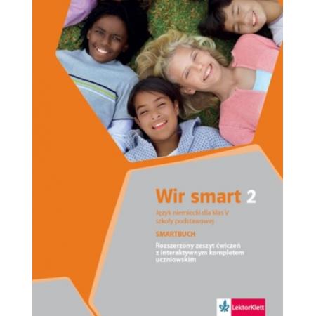 Wir smart 2 Smartbuch. Klasa 5 szkoły podstawowej. Rozszerzony zeszyt ćwiczeń z interaktywnym kompletem uczniowskim