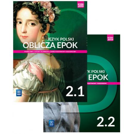 Pakiet Oblicza epok. Język polski. Podręcznik. Klasa 2. Część 1-2