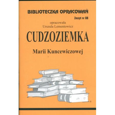 Biblioteczka opracowań nr 088 Cudzoziemka