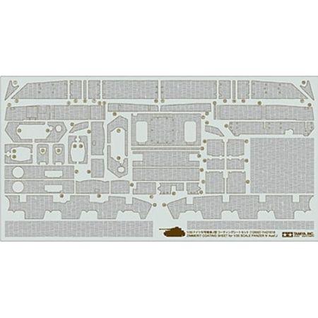 Panzer IV 1/35 Zimmerit Sheet