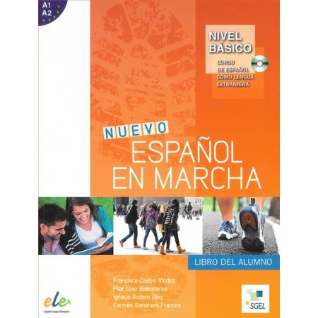 nuevo espanol en marcha basico a1 a2 podręcznik cd