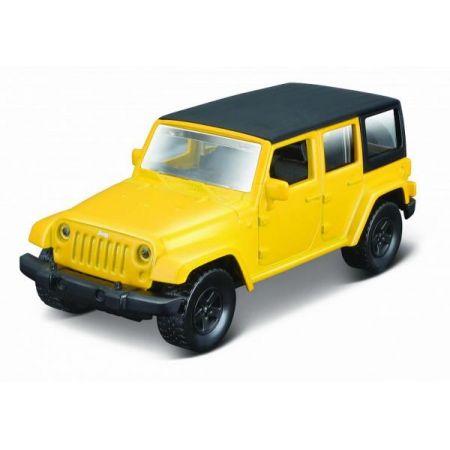 MI 21001-31 Auto Power Racer Jeep Wrangler Unlimited 2015 żółty