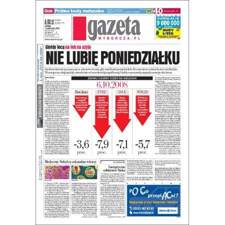 Gazeta Wyborcza - Płock 235/2008