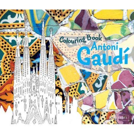 Coloring Book: Antoni Gaudi