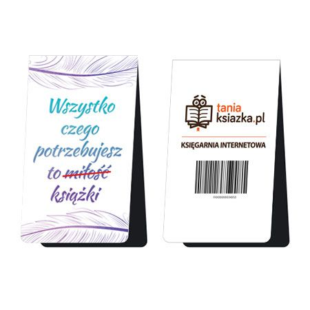 Magnetyczna zakładka do książki - Wszystko czego potrzebujesz to książki