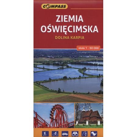 Mapy turystyczne - Ziemia Oświęcimska 1:50 000