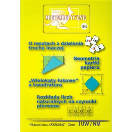 Miniatury Matematyczne 46 O resztach z dzielenia