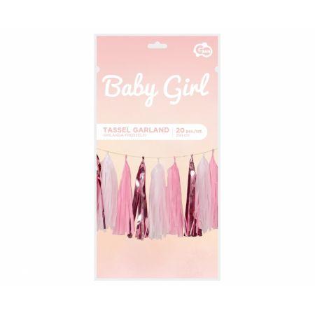 Girlanda B&G Frędzelki - Baby Girl