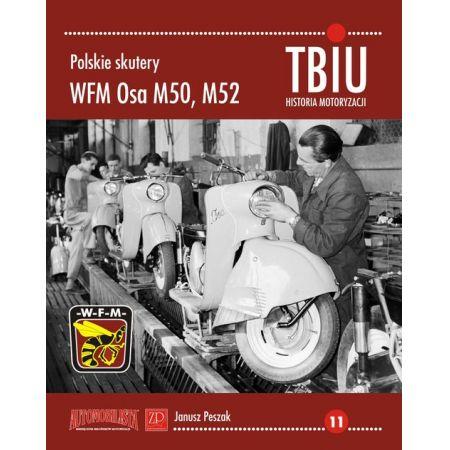 Polskie skutery WFM Osa M50, M52