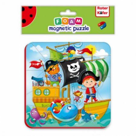 Miękkie magnetyczne puzzle. Piraci
