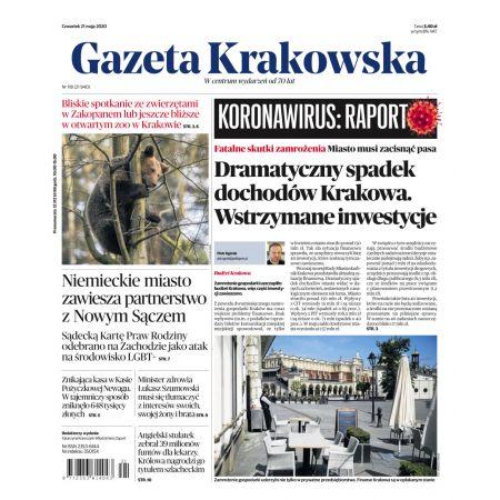 Gazeta Krakowska 118/2020