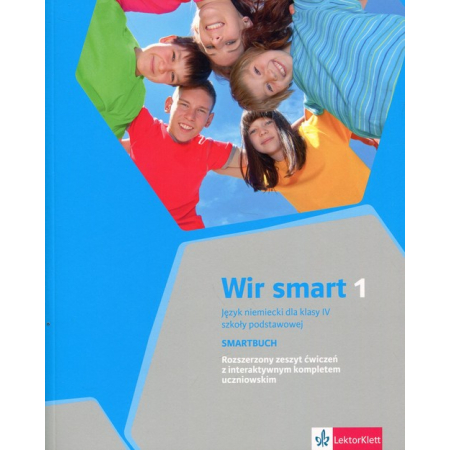 Wir Smart 1. Język niemiecki. Ćwiczenia. Klasa 4. Szkoła podstawowa