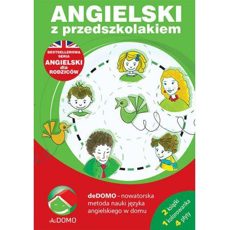 Angielski z przedszkolakiem. Pakiet książki + 4 CD