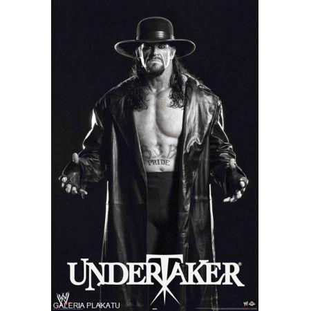 WWE Wrestling - Undertaker black and white - plakat